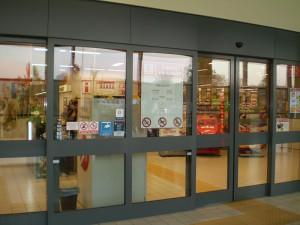Kaufland automatska vrata