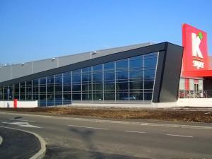 Konzum - Porticus vanjske aluminijske konstrukcije
